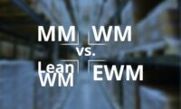 SAP Logistik-MM-vs-WM-vs-Lean-WM-vs-EWM