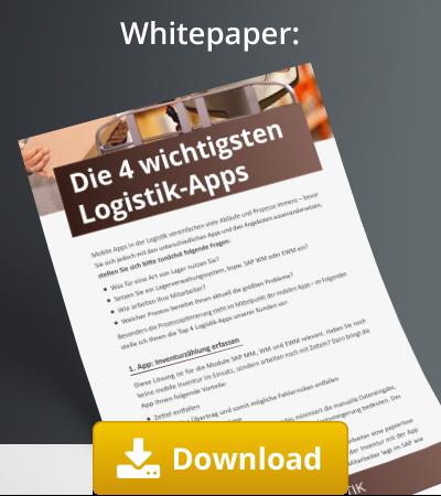 4 wichtigsten logistik apps