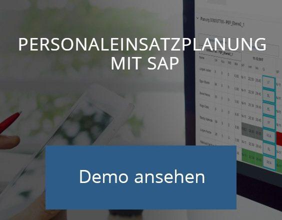 Das Demo zur Personaleinsatzplanung mit SAP ansehen