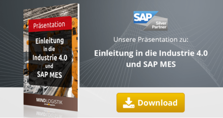 Unsere Präsentation zum Thema Industrie 4.0 und SAP MES.