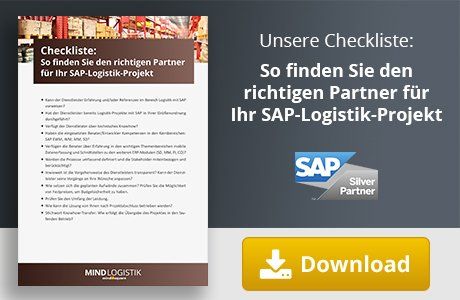 Der richtige Partner für Ihr SAP Logistik Projekt.