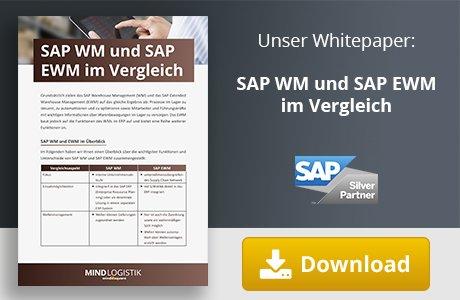Unser Whitepaper zum Thema SAP WM und SAP EWM im Vergleich