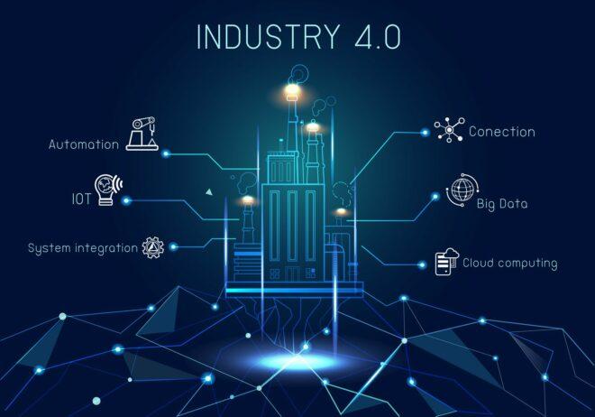 Industrie 4.0 in Produktion und Logistik